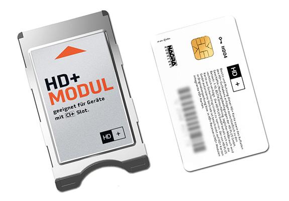HD+ Karte und CI+ Modul